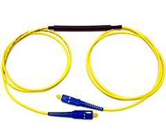 Attenuating Fiber Optic Jumper
