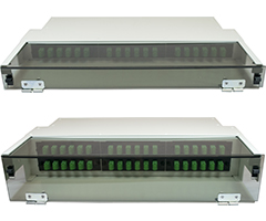 High Density MTP/MPO (HDM) Series Rackmount Enclosures