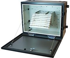 Optical Splice Entrance Cabinet (OSEC) Series Splice Wallmount Enclosures