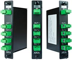 Planar Lightwave Circuit (PLC) Splitter Cassettes