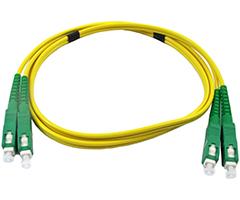 SC APC Singlemode Fiber Jumpers