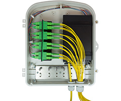 SMDU Fiber Optic Wallmount Wall Mount Enclosure Patch Splice Panel