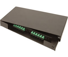swing out series Rackmount rack mount enclosure fiber optic patch splice