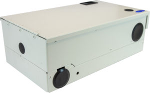 Fiber Optic Wall Mount Patch Splice Distribution Termination Panel Enclosure Cabinet Housing